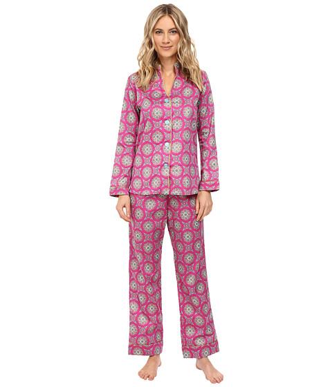BedHead Long Sleeve Mandarin Collar Pajama Set
