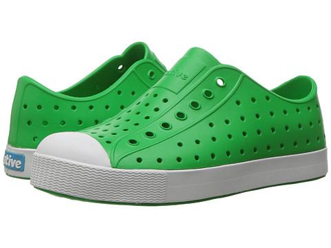 Native Kids Shoes Jefferson (Little Kid) - Giant Green/Shell White