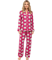 BedHead - Long Sleeve Mandarin Collar Pajama Set