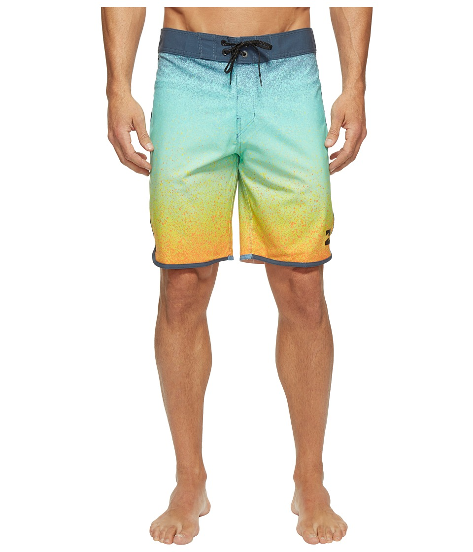 Billabong 73 X Line Up Boardshorts (Orange) Men