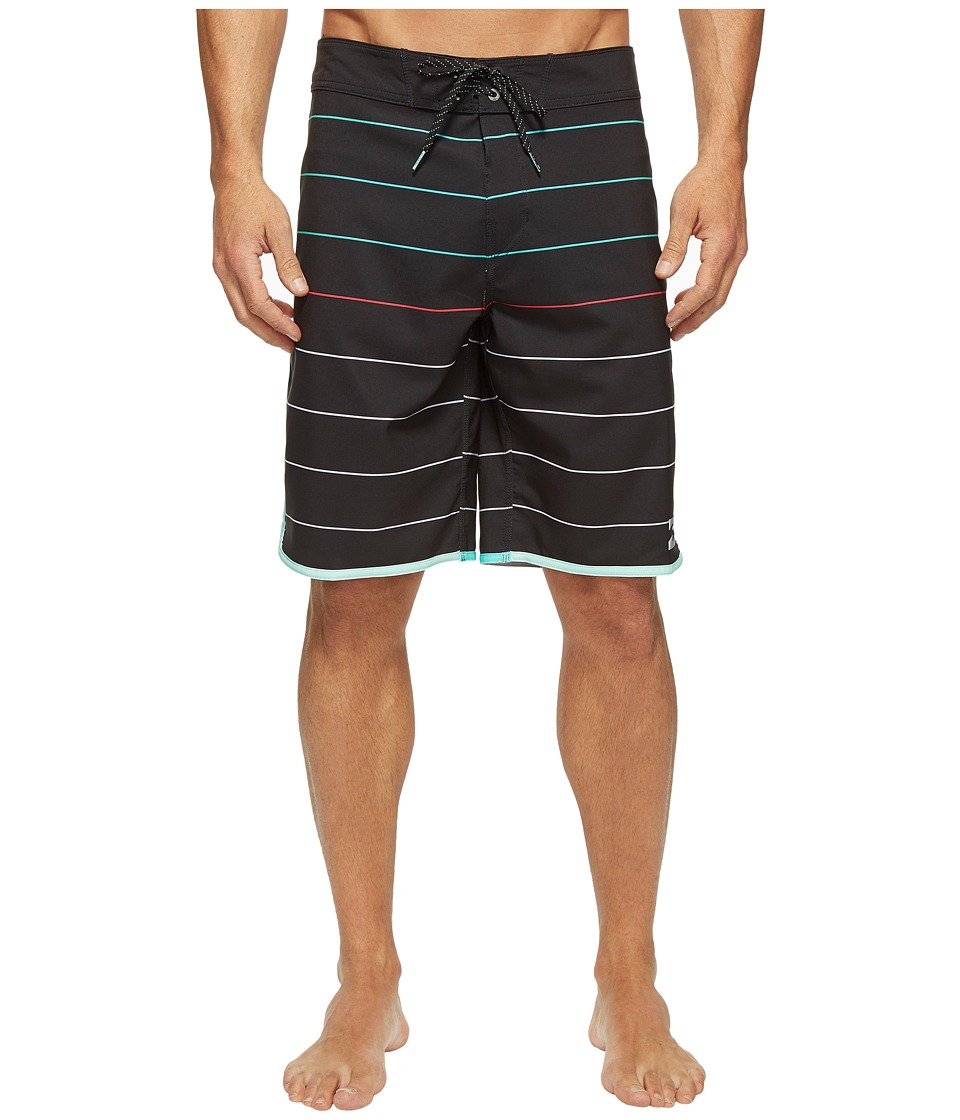 Billabong 73 X Stripe Boardshorts (Black) Men