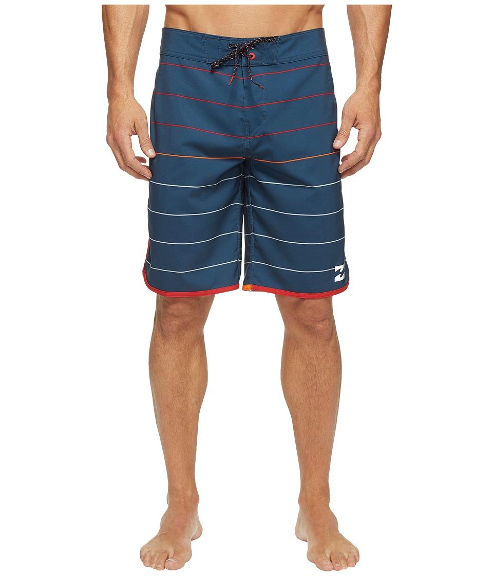 Billabong 73 X Stripe Boardshorts (Navy) Men