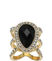 GUESS - Faceted Pear Shape Stone Ring