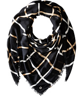 Calvin Klein - Three Color Window Pane Blanket Scarf