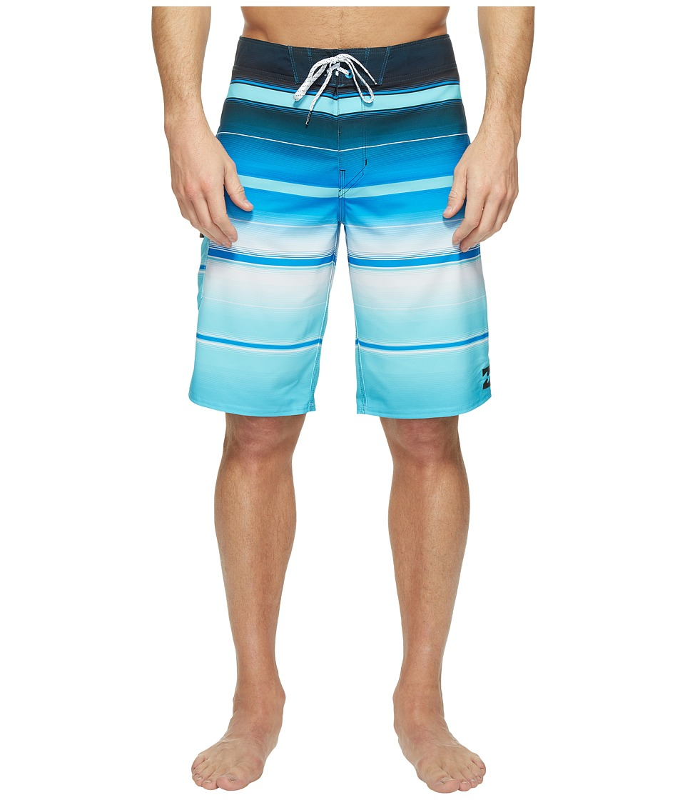 Billabong All Day X Stripe Boardshorts (Blue) Men