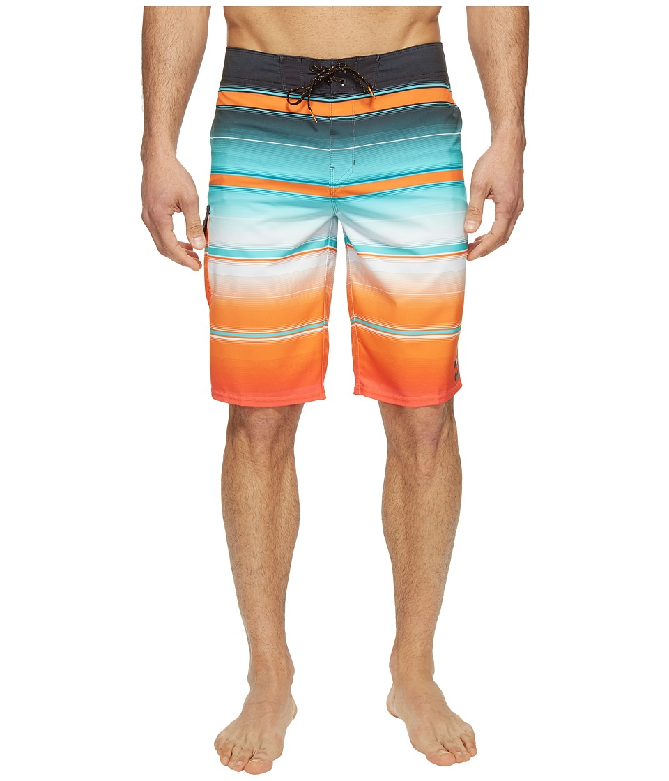 Billabong All Day X Stripe Boardshorts (Orange) Men