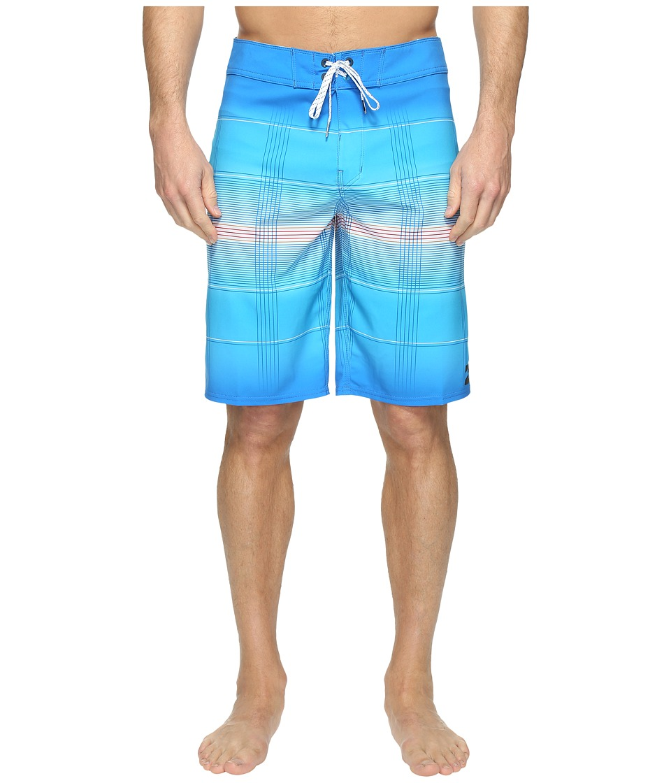 Billabong All Day X Plaid Boardshorts (Blue) Men