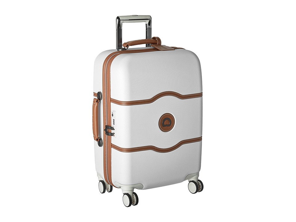 Delsey Chatelet Hard 21 Carry-On Spinner Trolley (Champagne) Carry on Luggage