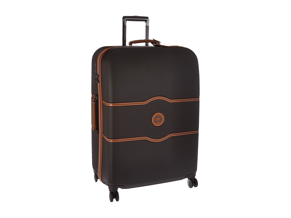 DELSEY Chatelet Hard - 28 Spinner Trolley (Chocolate) Lug...