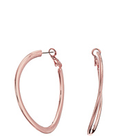 GUESS - Clutchless Tube Hoop Earrings