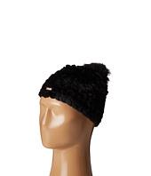 Calvin Klein - Knit Fur Pompom Beanie