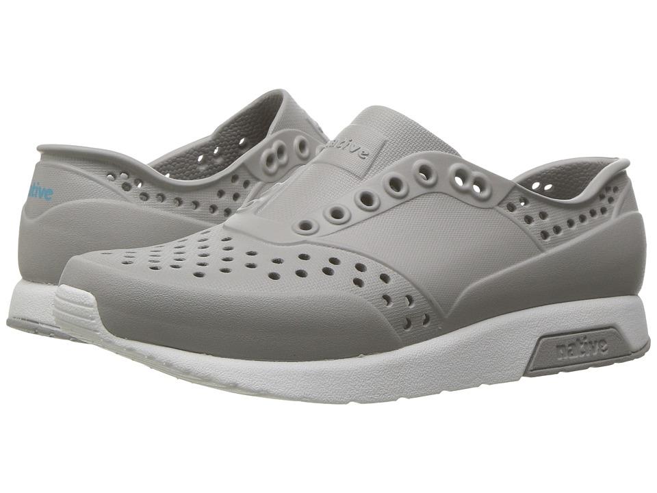 Native Kids Shoes Lennox (Little Kid) (Pigeon Grey/Shell White) Kids Shoes