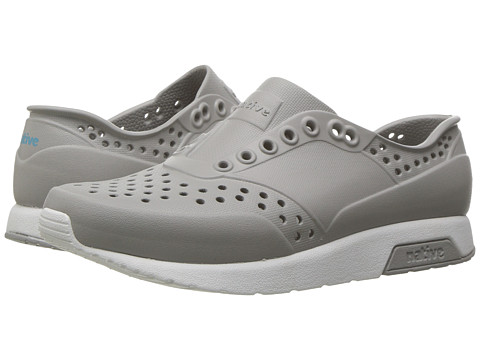 Native Kids Shoes Lennox (Little Kid) - Pigeon Grey/Shell White