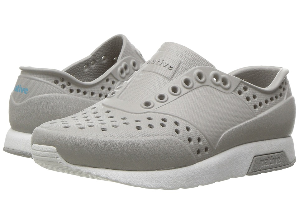 Native Kids Shoes Lennox (Toddler/Little Kid) (Pigeon Grey/Shell White) Kids Shoes