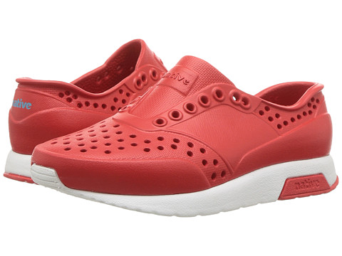 Native Kids Shoes Lennox (Toddler/Little Kid) - Torch Red/Shell White