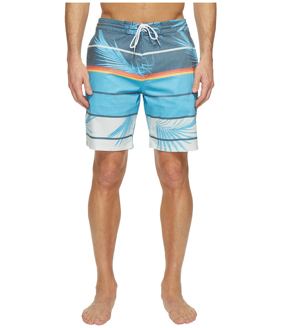 Billabong Spinner Lo Tide Print Boardshorts (Blue) Men