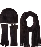Calvin Klein - Three-Piece Set - Hat, Scarf, Flip Tip Gloves