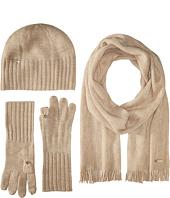 Calvin Klein - Three-Piece Set - Hat, Scarf, Flip Tip Gloves