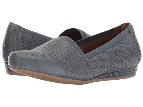 Rockport Cobb Hill Collection Galway Perforated Gigi - Blue Nubuck