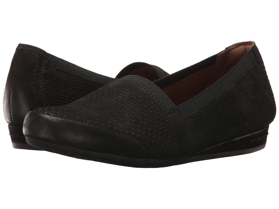 Rockport Cobb Hill Collection Cobb Hill Galway Perforated Gigi (Black Nubuck) Women