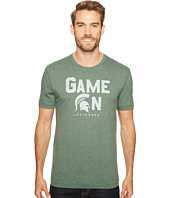 Life is good - Michigan State Spartans Game On Cool Tee