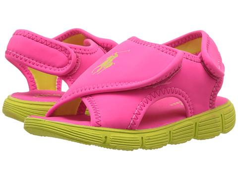 Polo Ralph Lauren Kids Banks (Toddler) - Pink Sportbuck/Citron