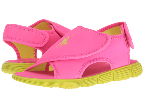 Polo Ralph Lauren Kids Banks (Little Kid) - Pink Sportbuck/Citron