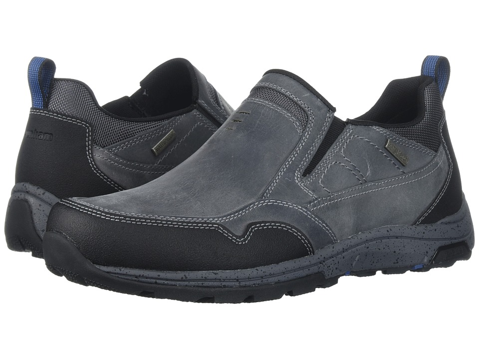 Dunham Trukka Slip-On Waterproof (Grey) Men
