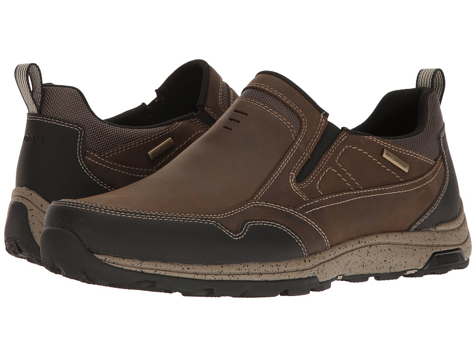 Dunham Trukka Slip-On Waterproof (Taupe) Men