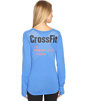 Reebok - CrossFit Long Sleeve Burnout Graphic Tee