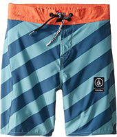 Volcom Kids - Stripey Jammer Boardshorts (Toddler/Little Kids)