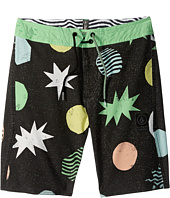Volcom Kids - Polka Slinger Boardshorts (Big Kids)