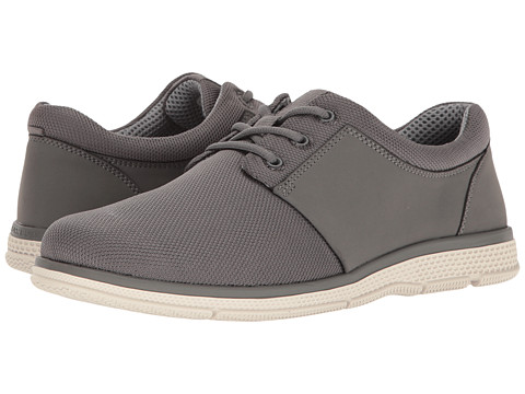 Nunn Bush Zephyr Three Eye Plain Toe Lace-Up - Grey