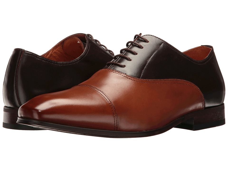 Florsheim Corbetta Cap Toe Oxford (Brown/Scotch Smooth) Men