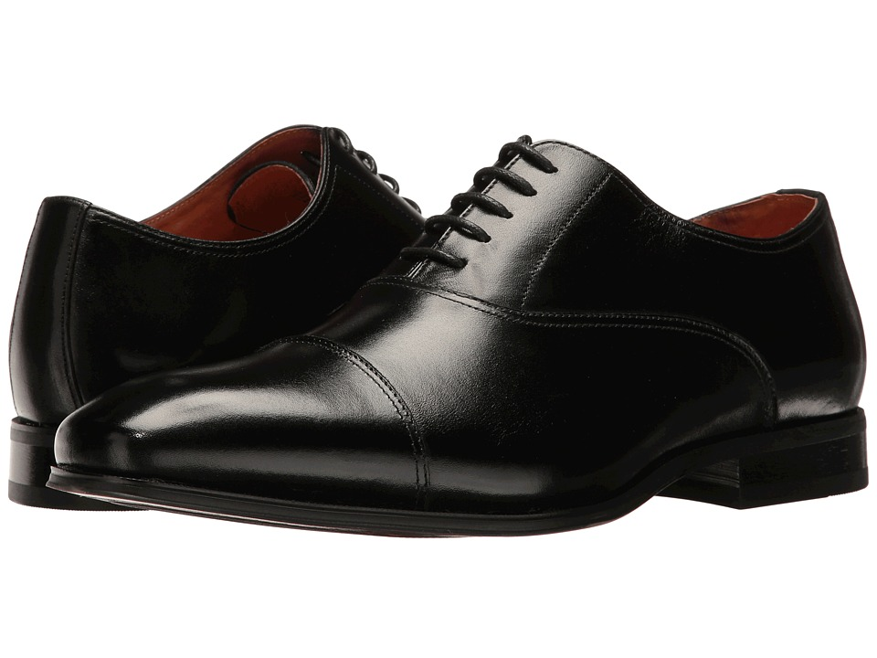 Florsheim Corbetta Cap Toe Oxford (Black Smooth) Men