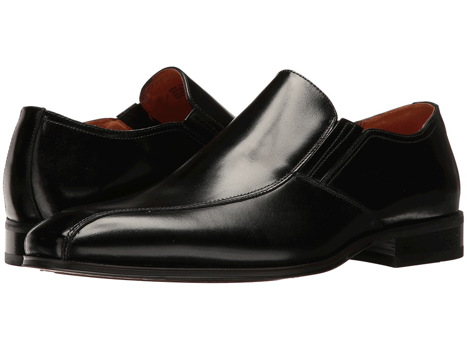 Florsheim Corbetta Bike Toe Slip-On (Black Smooth) Men