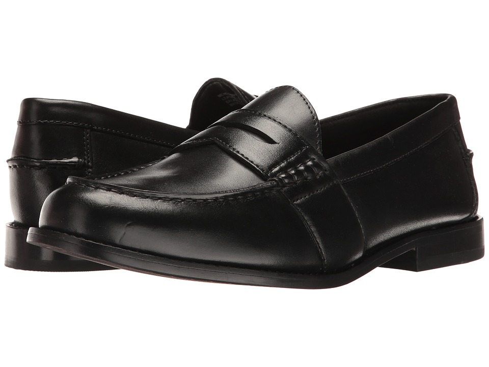 Nunn Bush Noah Beef Roll Penny Slip-On (Black) Men
