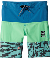 Volcom Kids - Chopped Riff Jammer Boardshorts (Little Kids)