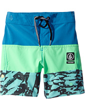 Volcom Kids - Chopped Riff Jammer Boardshorts (Toddler/Little Kids)