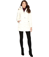 Betsey Johnson - Quilted Puffer w/ Fur Hood