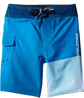 Volcom Kids - Costa Logo Mod Boardshorts (Toddler/Little Kids)