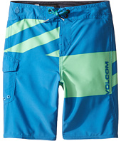 Volcom Kids - Logo Party Pack Mod Boardshorts (Toddler/Little Kids)