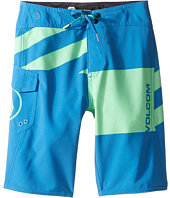 Volcom Kids - Logo Party Pack Mod Boardshorts (Big Kids)