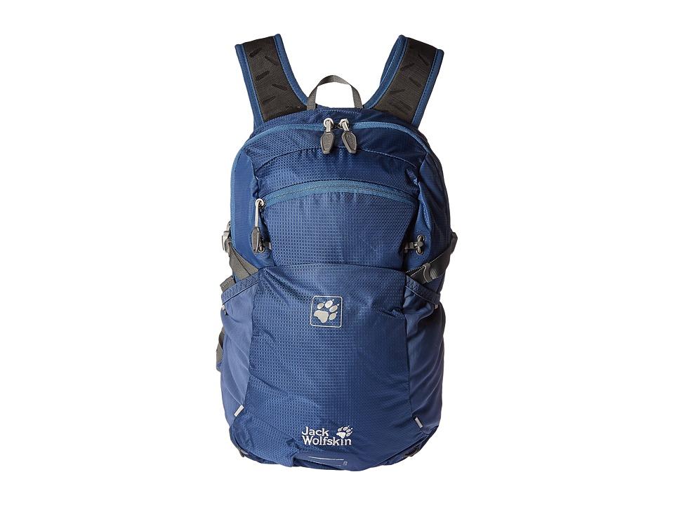Jack Wolfskin - Moab Jam 18 (Ocean Wave) Backpack Bags