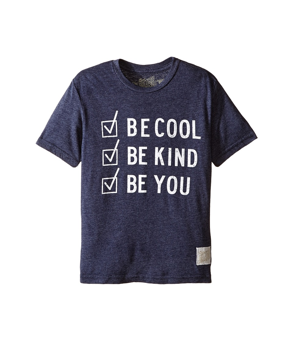 The Original Retro Brand Kids - Be Cool Be Kind Be You Tri-Blend Short Sleeve Tee