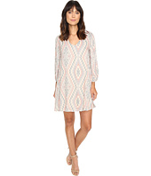 Brigitte Bailey - Adiva Geo-Print Long Sleeve Dress
