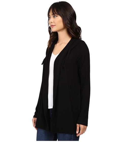 culture phit halle hoodie cardigan with drawstring at. Black Bedroom Furniture Sets. Home Design Ideas