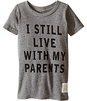 The Original Retro Brand Kids - I Still Live with My Parents Short Sleeve Tri-Blend Tee (Toddler)