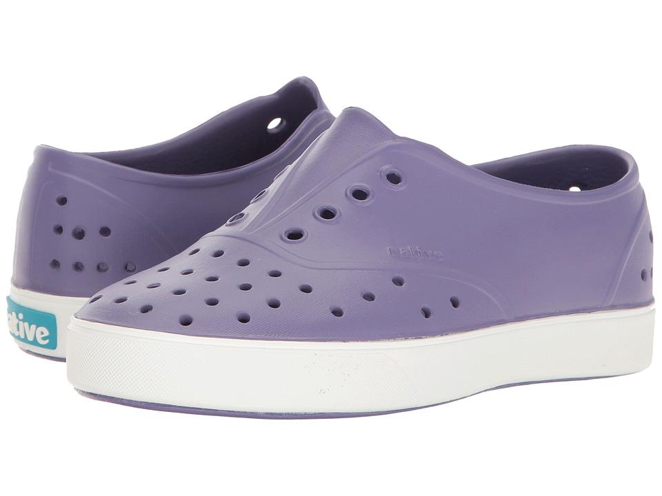 Native Kids Shoes Miller (Little Kid) (Haze Purple/Shell White) Girls Shoes