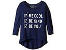 The Original Retro Brand Kids Be Cool Be Kind Be You Dolman 3/4 Tee (Big Kids)